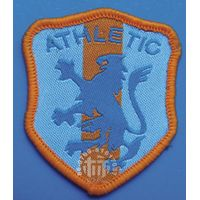 customized high quality woven badges thumbnail image