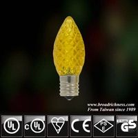 C9 strawberry LED light bulb