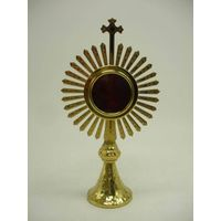 High Quality Brass Reliquary Excellent Monstrance Religious Articles X20
