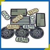 custom 3D pvc badge for clothing bag cap