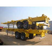 container flat bed semi-trailer supplier/good quality flat bed trailer supplier