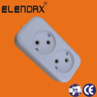 2 way extension socket with /without cable(E8002)