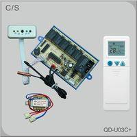 Universal A/C remote control system QD-U03C+