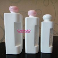 Square plastic bottles for shampoo, plastic pump bottles for shampoo, hair tonic bottles thumbnail image