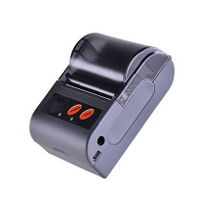 LS2(L) mini mobile bluetooth thermal printer with leather cover thumbnail image