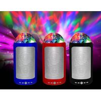 Portable LED Disco Party Maker Wireless Bluetooth Speaker