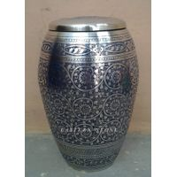 BRASS, IRON METAL CREMATION URNS