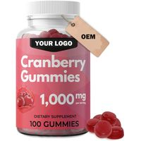 Cranberry Gummies Soft Candy OEM