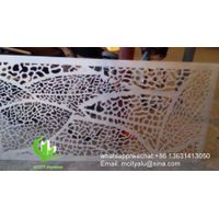 aluminum hollow perforated carving panel
