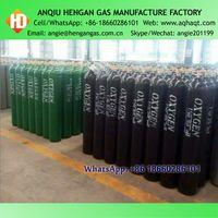 GB5099 40L 15MPA High Pressure Seamless Steel Oxygen Nitrogen Argon Helium N2O Gas Cylinder thumbnail image