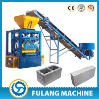 QTF4-24 high quality Germany design simple prodcution line concrete fly ash brick making machines fo thumbnail image