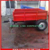 side steel industrial cargo dolly semi trailer thumbnail image