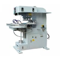 TY-20C4-120 4-color ink cup pad printer with conveyor