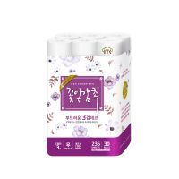 Korea ITC, 3 ply toilet paper, bathroom tissue, roll tissue, 100% virgin pulp, 3 ply deco