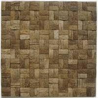 coconut mosaic rough surface
