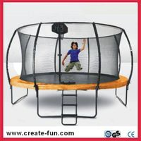 Createfun Fiberglass Trampoline
