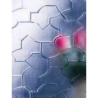 Shehe decorative glass factory, Clear/ Colored Patterned Figured Rolled Glass with Good price