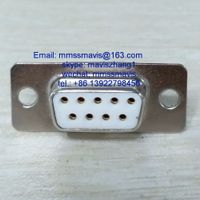 D series electronic connector d sub 9 pins female socket