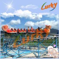 popular amusement roller coaster Sliding dragon