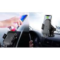 Automatic car phone holder wireless charging thumbnail image