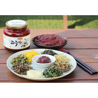 Korean traditional Red papper paste called Gochujang