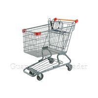 """YLD-CT150-1FB Canadian Shopping Trolley Shopping Trolley, 5""""PU Wheels Shopping Trolley,Canadian Styl thumbnail image"""