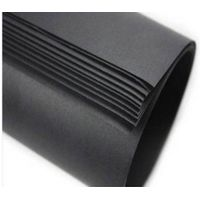 Recycled Paper Black Cardboard Paper Board for Packaging and Printing thumbnail image