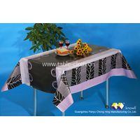 Guangzhou Panyu Tablecloths with Nonwoven Backed thumbnail image