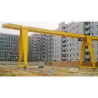 Outdoor Factory Yard Single Girder Gantry Crane Drawing thumbnail image