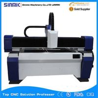 2016 hot sale metal fiber engraving and metal cutting machine