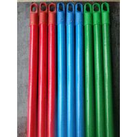 red, bule, green pvc coated wooden stick