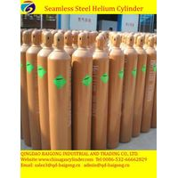 40L High Pressure Seamless Steel gas cylinder helium gas cylinder
