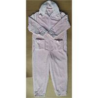 Ladies Jacquard Fleece Siamesed Pajamas thumbnail image