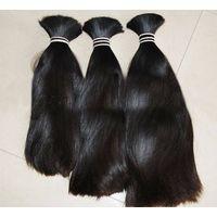 Wholesale Fashionable Raw Human Hair Virgin Brazilian Hair Bulk