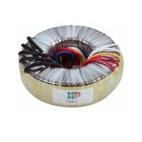 Toroidal transformer for industrial control