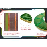 High-tech break through 100 layers pcb manufacturing and assembly