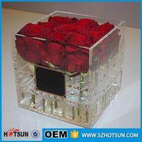 clear acrylic flower box thumbnail image