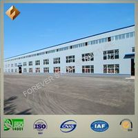 high quality steel structure warehouse and workshop