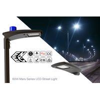 60W LED Street Lights IP66 Mars Series Roadway Lamp thumbnail image