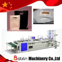 glue patch handle bag making machine