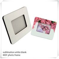 DYE sublimation hardboard photo frame 6X8""