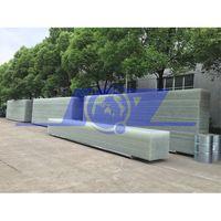 high strength fiberglass reinforced heat insulation translucent hangar door panels