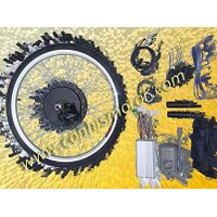 Electric bicycle conversion system with brushless motor thumbnail image