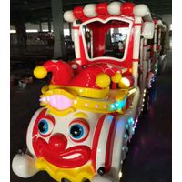 Cartoon trackless train for sale shopping mall kiddie rides thumbnail image