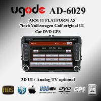 Volkwagon Car DVD Player with 7-inch Touch Screen/Canbus/external MIC(optional)/DTV(optional)/TMC (o