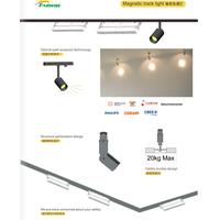 Portable wifi ceiling motorized 30 watt led track lighting thumbnail image