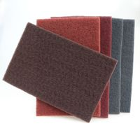 Color Nylon Kitchen Scouring Pad Cleaning Scouring Pad Abrasive Scouring Pad thumbnail image