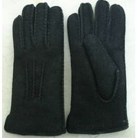 Classical double face leather gloves