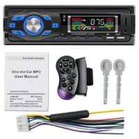 One Din EQ RCA AI Voice Assistant Bluetooth Mp3 Player For Car