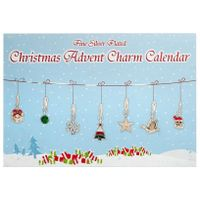 Advent Calendar Christmas Charm Set